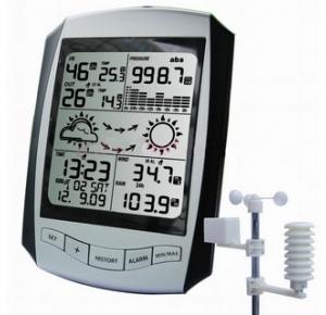 Профессиональная метеостанция с беспроводными датчиками EMS001