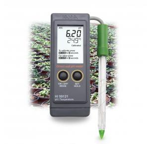 HI99121 рН-метр для измерения рН почвы