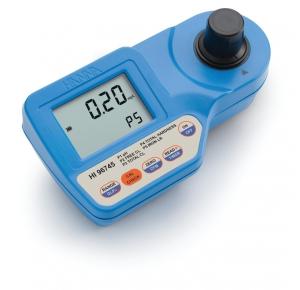HI96745 колориметр для определения рН, железа, свободного и общего хлора, жесткости
