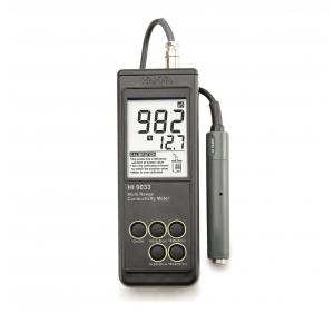 HI9033 портативный многодиапазонный кондуктометр