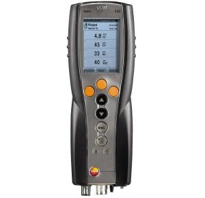 Testo 340 газоанализатор в комплекте с аккумуляторами, протоколами калибровки и ремнем для переноски
