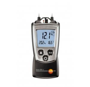 Testo 606-2 Контактный гигрометр для древесины и строительных материалов (0 … 50 %) + температура/влажность воздуха