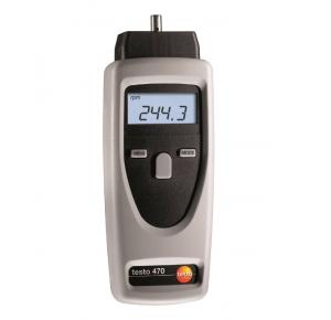 Testo 470 Высокоточный бесконтактный тахометр от 1 до 100000 об/мин