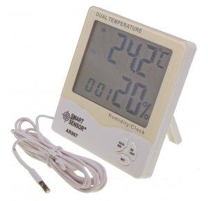 AR867 Термометр с функцией измерения влажности воздуха