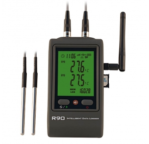 Hairuis R90TT-G Регистратор температуры с двумя внешними датчиками с GSM