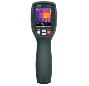 DT-870 Тепловизор Матрица: 80х80, чувствительность: 0,1 °C, погр. ±2°C , Темп. от -20°C  до +380°C  Передача на смартфон
