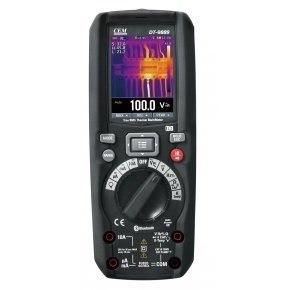 DT-9889 Мультиметр TRMS с встроенным тепловизором