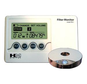 FM-2 Компьютерный анализатор степени загрязнения фильтра с датчиком объема воды
