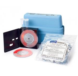 1464-00 тест-набор для определения железа общего 0-4 мг/л, шаг 0.1 мг/л,100 тестов