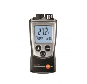 Testo 810 2-х канальный прибор измерения температуры с ИК-термометром