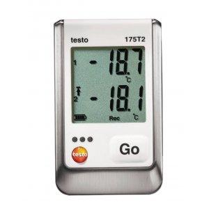 Testo 175 T2 2х-канальный логгер данных температуры с внутренним сенсором (NTC) и разъемом для внешн
