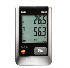 Testo 176 H1 4-канальный логгер данных температуры и влажности