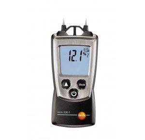 Testo 606-1 Контактный гигрометр для древесины и стройматериалов (0 … 50 %), игольчатые электроды