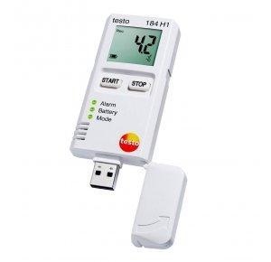 Testo 184 H1 Логгер данных температуры и влажности