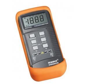DM6802B Профессиональный термометр высокотемпературный на 2 датчика
