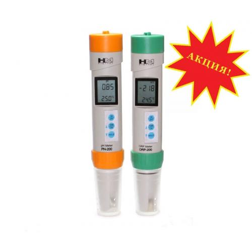 Набор профессиональных  приборов для измерения pH, ОВП  и температуры жидких сред