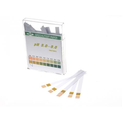 PHP59 Тест полоски 100шт pH от 4.5 до 9