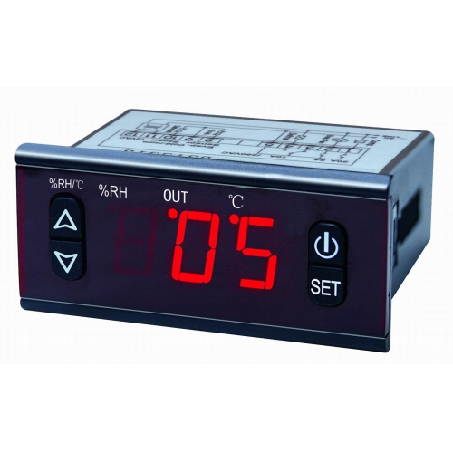 SF469B Контроллер температуры и влажности воздуха  с внешними датчиками