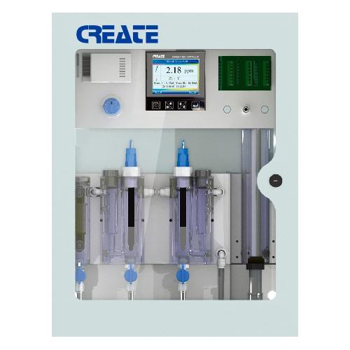 POP-8300А Система мониторинга и контроля свободного хлора, pH и температуры воды