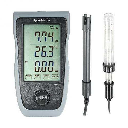 HM-500 Мультимонитор Hydromaster pH/EC/TDS/Temp с сенсорным экраном