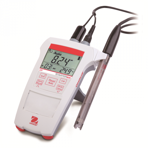 Ohaus ST300 Портативный pH/ОВП метр с электродом (ГосРеестр)