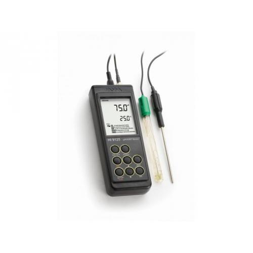 HI9125 влагозащищенный рН/ОВП метр