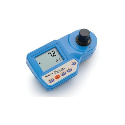 HI96710 колориметр на рН и хлор, своб..хлор 0.00-2.50 мг/л, общий хлор 0.00-3.5 мг/л, рН 5.9-8.0