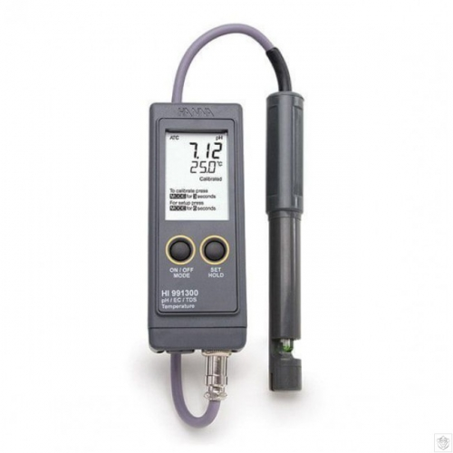 HI991300 портативный влагозащищенный рН/ЕС/TDS-метр