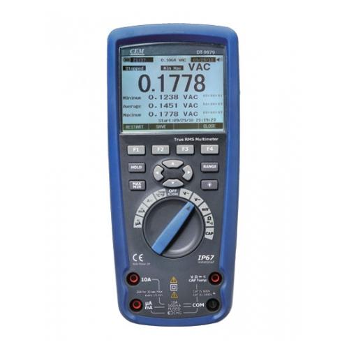 DT-9979 цифровой мультиметр, IP67, True RMS, передача данных Bluetooth