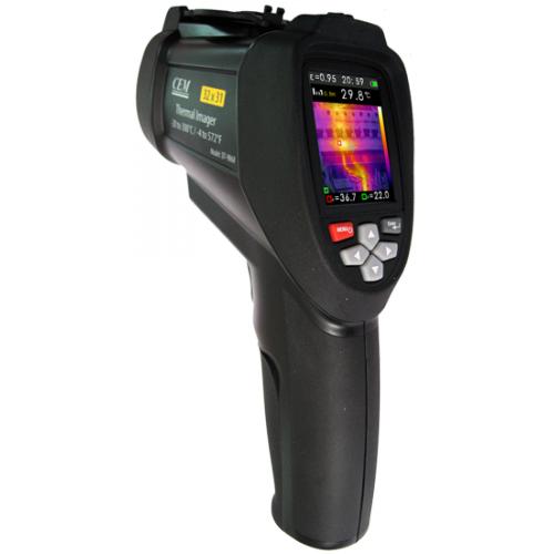 DT-9868 тепловизор матрица: 32х31, чувствительность: 0,150°C., темп. от -20 °С до +300 °С, запись JPEG, USB, microSD