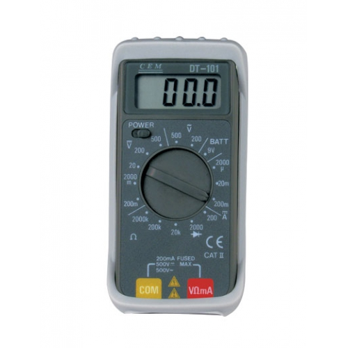 DT-102  Карманный цифровой мультиметр