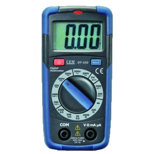 DT-103 Карманный цифровой мультиметр
