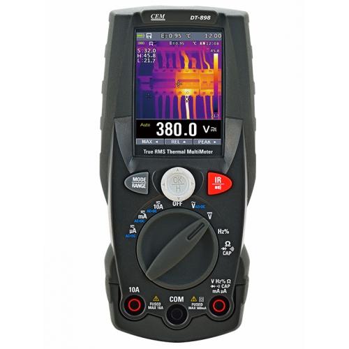 DT-898 Мультиметр TRMS с встроенным тепловизором