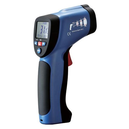 DT-8830 пирометр - 30°C до +380°C, 13:1, погр.±1,5%, разр. 0,1°C, память 20 значений, термопара типа К