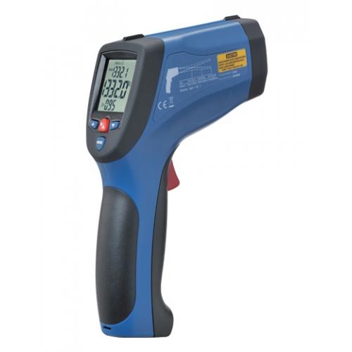 DT-8868H Профессиональный пирометр - 50°C до +1850°C, 50:1, погр. ±1,5%, разр. 0,1°C, USB, 2-ной лазерный указатель
