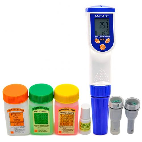 AMT03R Прибор для измерения pH, ОВП, EC, TDS, Salt, Temp качества воды