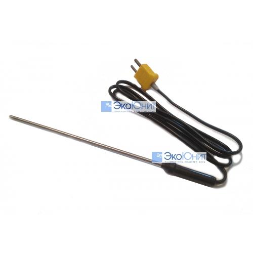 Внешний термодатчик длина щупа 1200мм K- типа для термометра