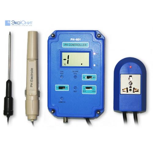 pH метр PH-601 монитор-контроллер активности ионов водорода в воде