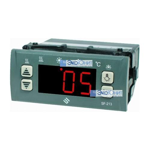 Контроллер температуры SF-213 с дополнительной ЖК панелью и с 2-мя внешними датчиками