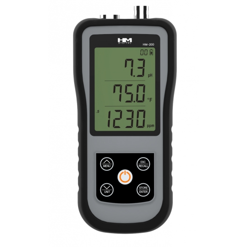HM Digital HM-200 мультимонитор pH/EC/TDS/Temp
