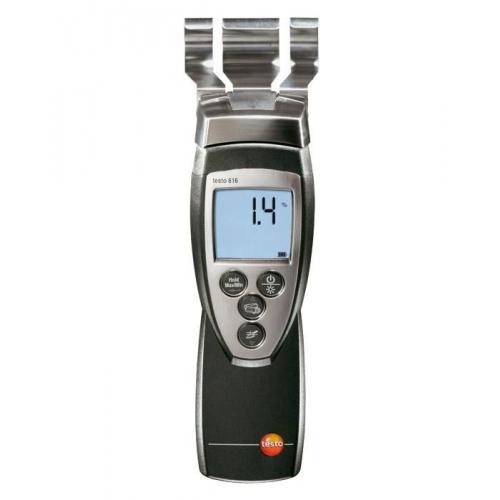 Testo 616 Контактный гигрометр материалов (измерение проводимости материалов), 10 характеристик проводимости