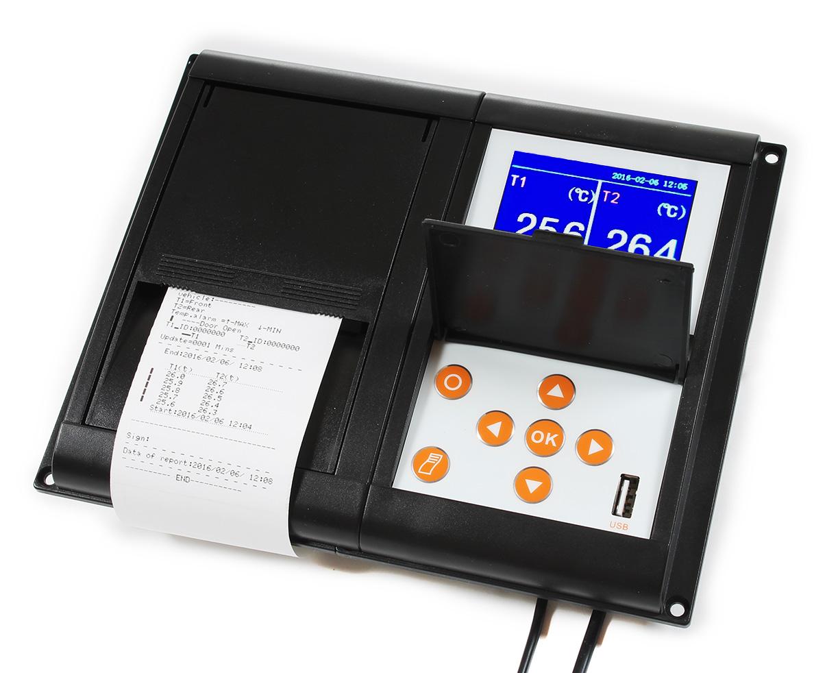 RMS010 - терморегистратор для рефрижератора